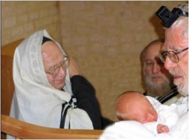 עם ראש ישיבת הר ציון